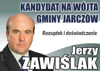 Jerzy Zawiślak - kandydat na wójta Gminy Jarczów
