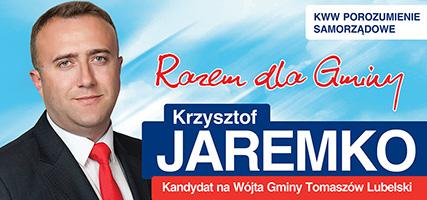 Krzysztof Jaremko - Wybory 2018